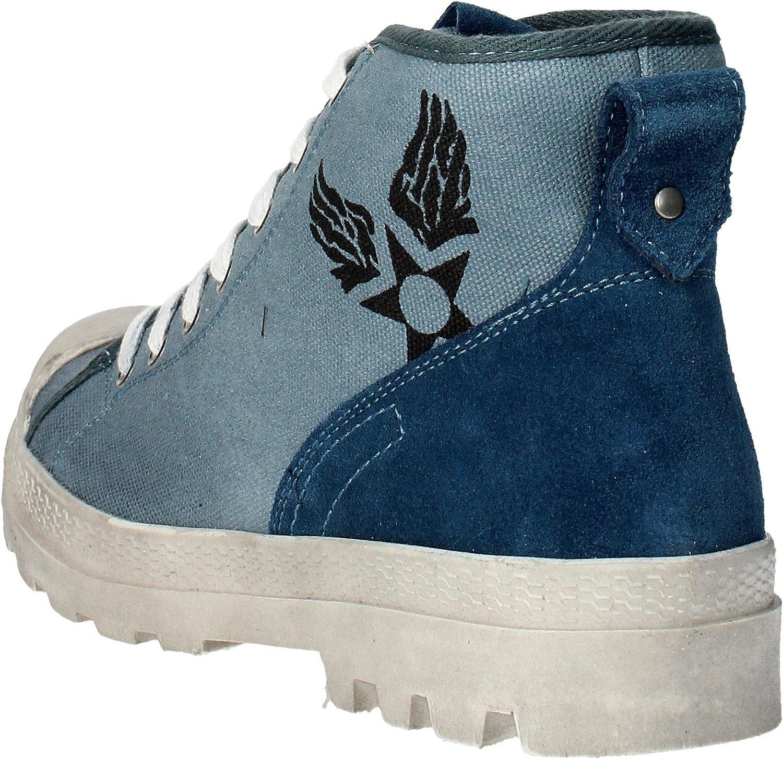 Avirex , Baskets pour Homme Bleu Jeans Bleu Jeans