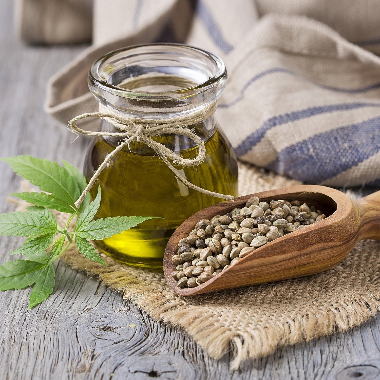 nu3 Aceite de Cáñamo Premium - 250ml de aceite extra virgen prensado en frío - Fuente natural de ácidos omega3 - Ideal con platos fríos, aderezos y salsas ...