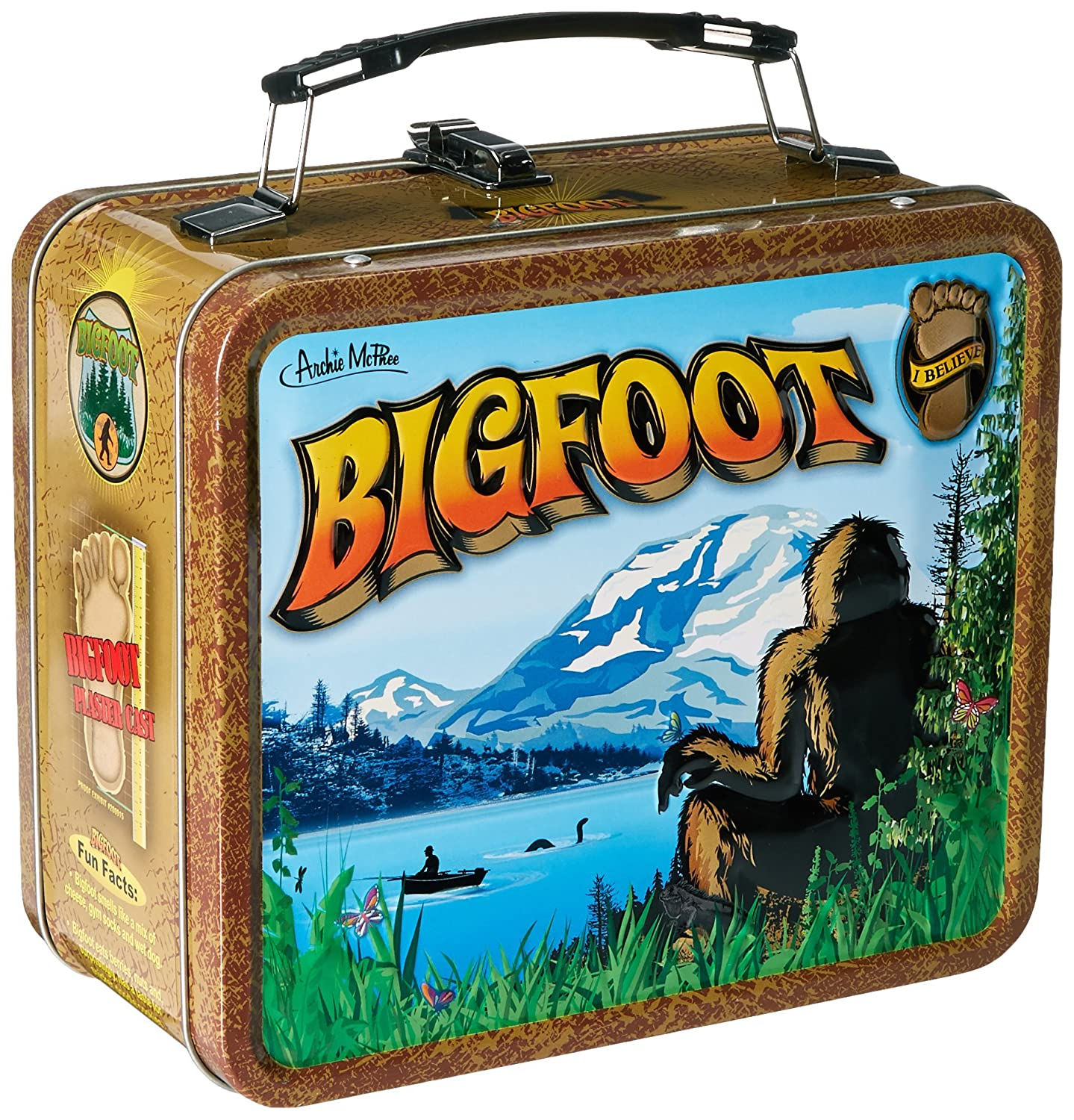 Accoutrements 12493 Bigfoot Lunchbox, Multi