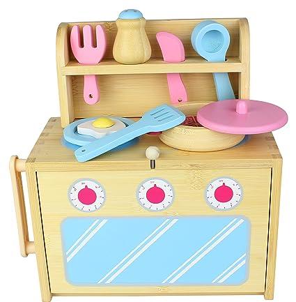Diggin Bamboo Box Kitchen Set