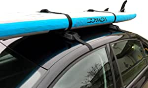 StoreYourBoard SUP and Surfboard Car Rack, Adjustable and Removable Roof Rack, Paddleboards Longboards and Surfboards