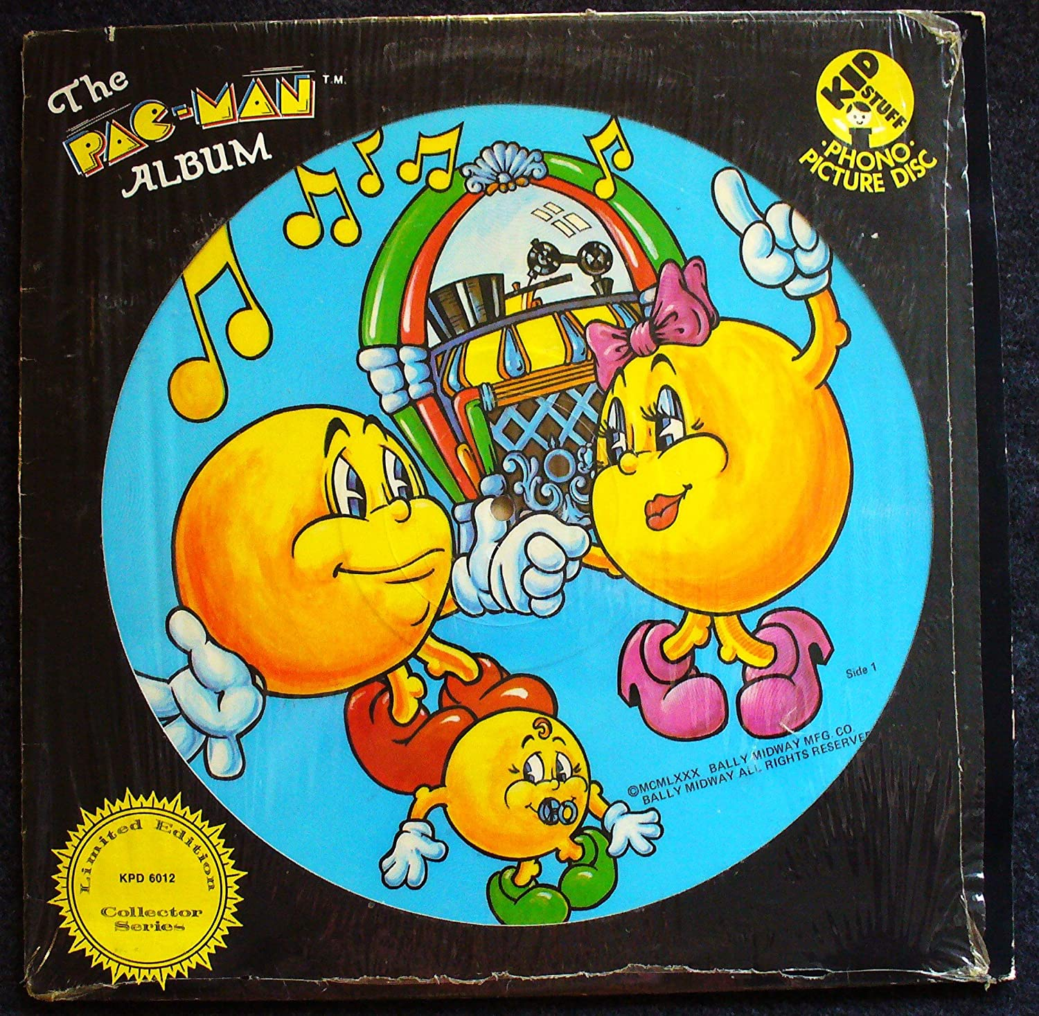 The Pac-Man Album; phono picture disc; ltd ed