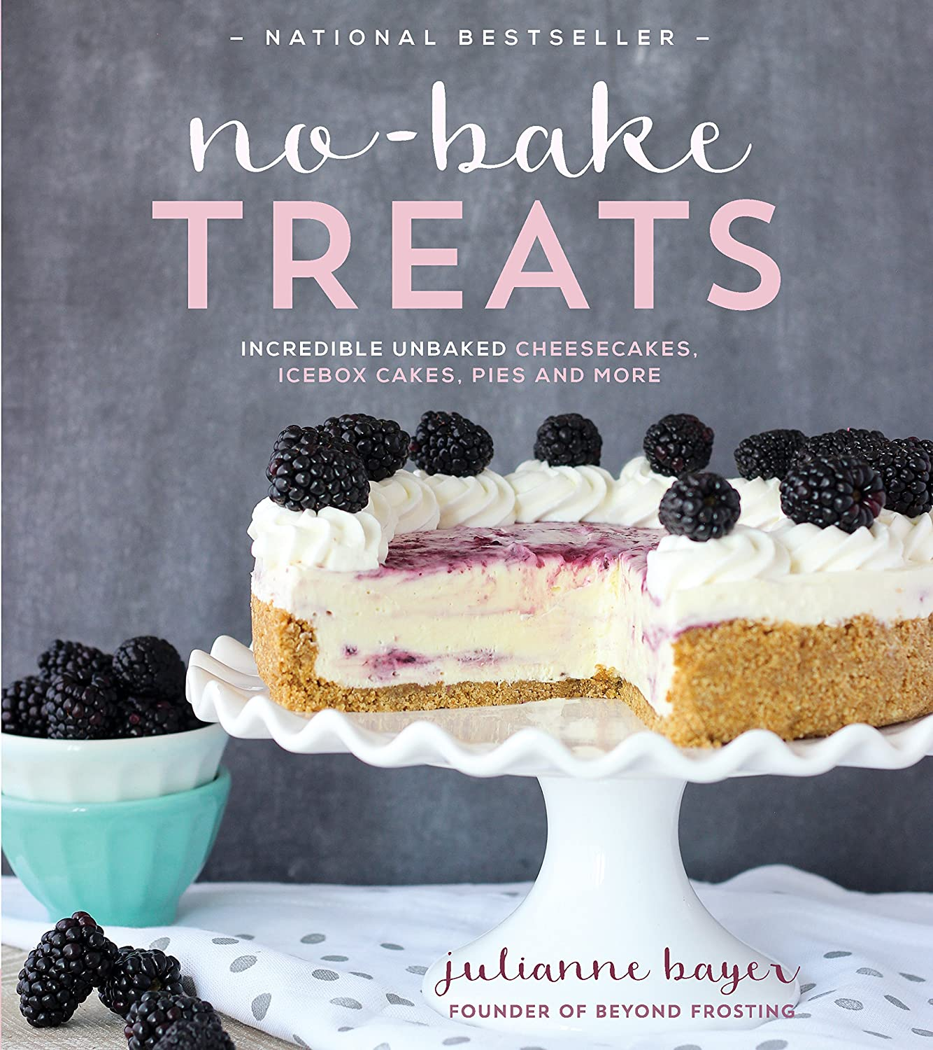 No-Bake Treats: Incredible Unbaked Cheesecakes, Icebox Cakes, Pies and More (English Edition) eBook: Julianne Bayer: Amazon.es: Tienda Kindle