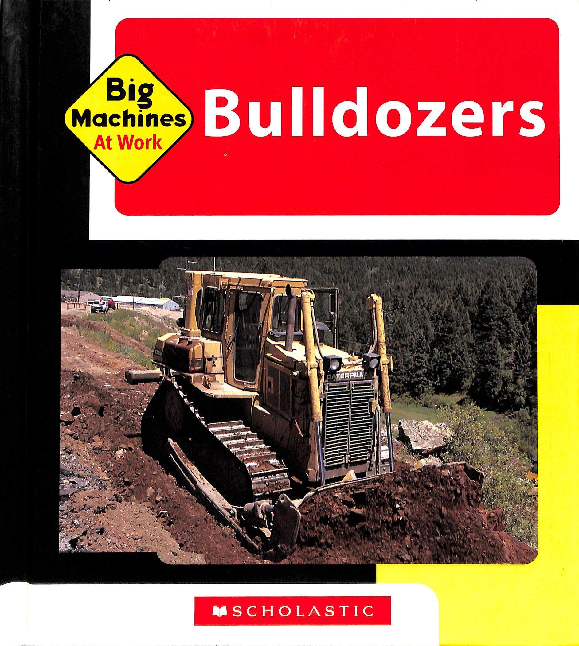 Bulldozers Big Machines at Work product image