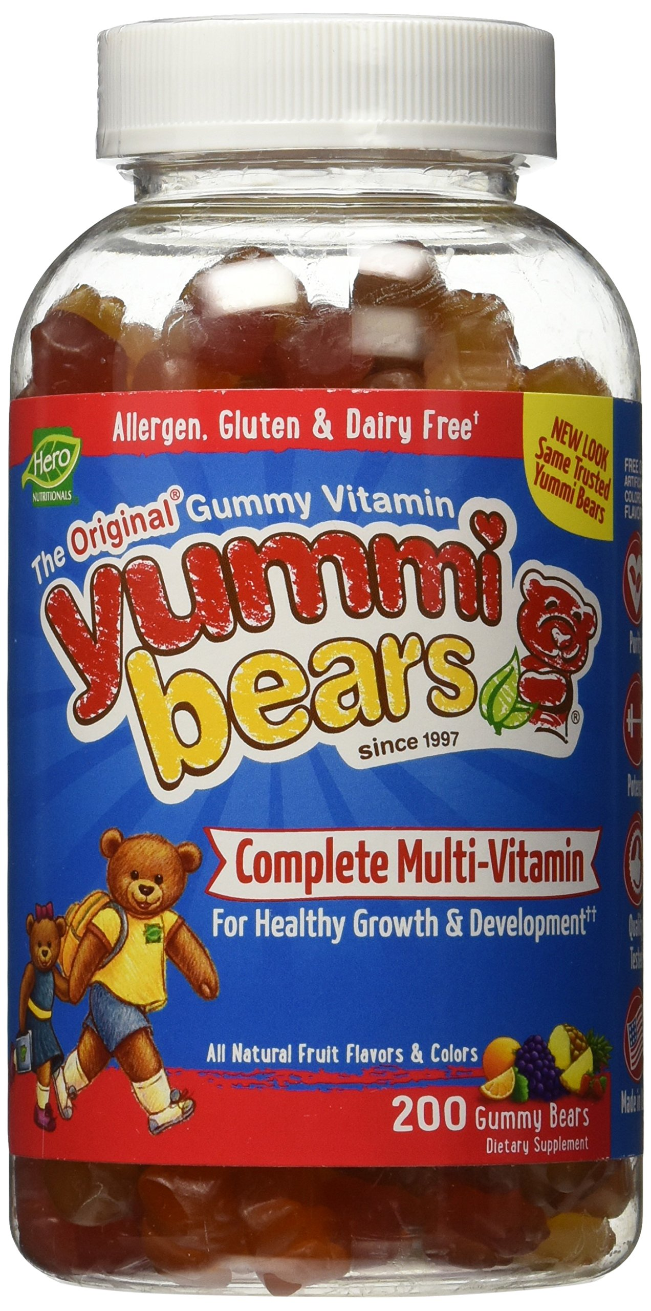 Yummi Bears Multi-Vitamin and Mineral, 2 Count