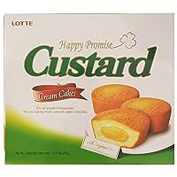 9.73oz Lotte Custard Cream Cakes Original (One Box)