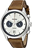 Fossil Men's CH2952 Del Rey Chronograph Leather Watch - Tan