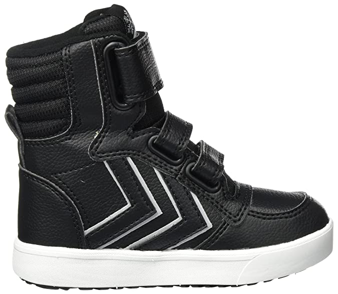 hummel Stadil Super Reflective Boot, Bottes de Neige Mixte Enfant, Noir (Black), 33 EU
