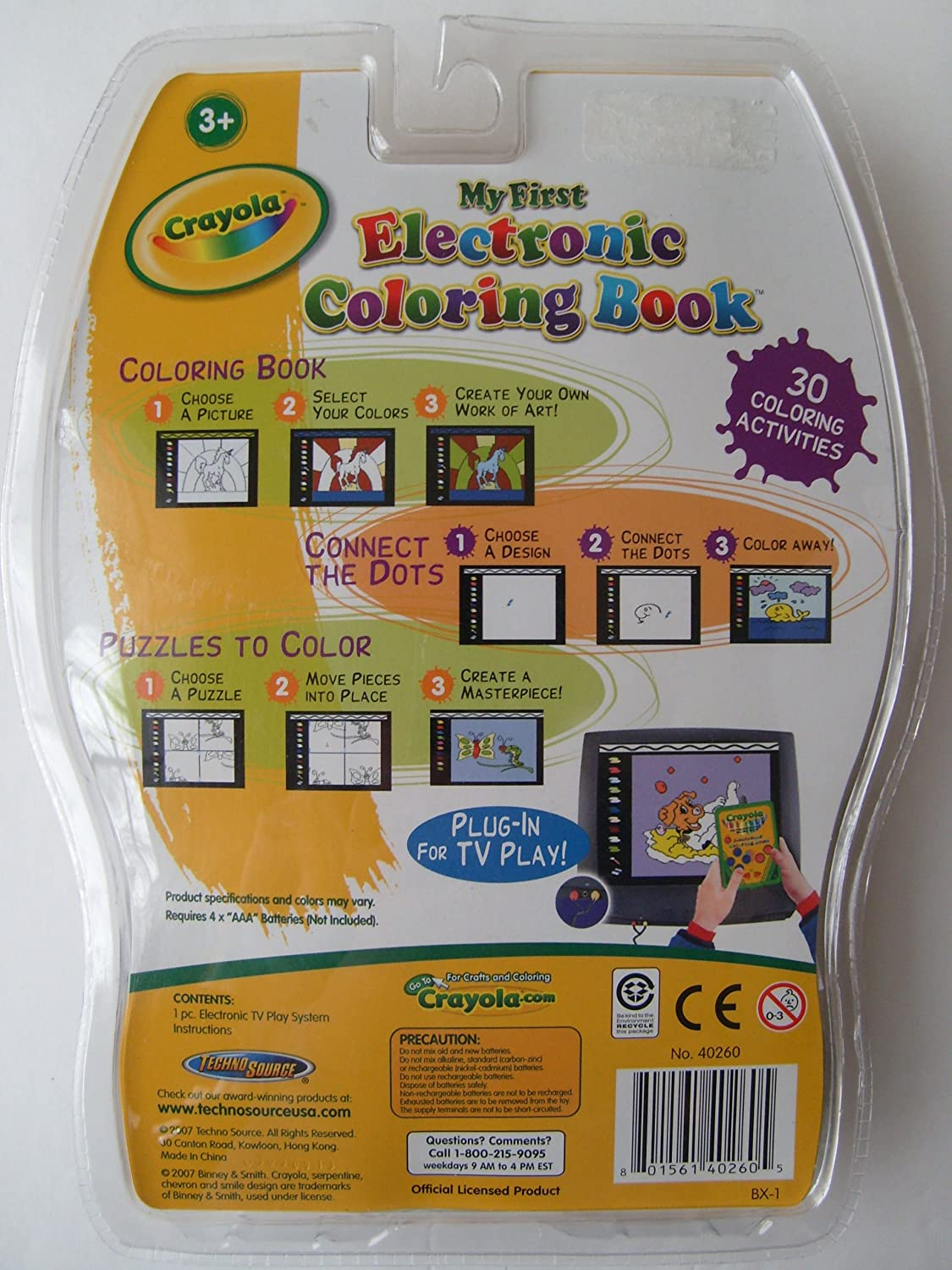 Amazon.com: My First Electronic Coloring Book: Video Games