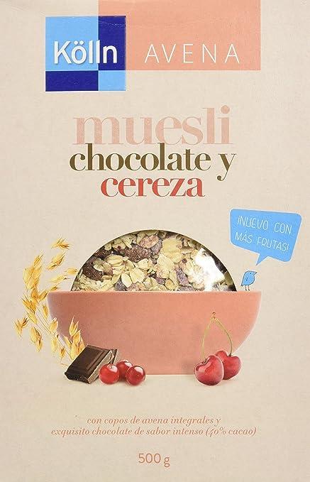 Kölln Mueslis de Avena con Chocolate y Cerezas - 500 gr: Amazon.es ...