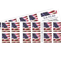 US Flag USPS Forever Stamps - 40 Stamps (two books of 20)