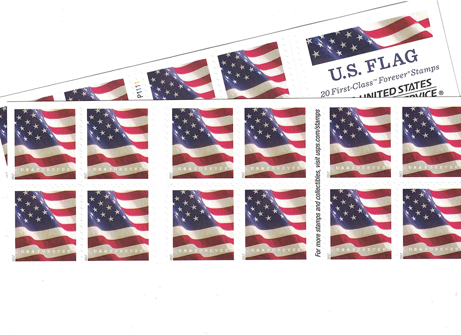 How Many Forever Stamps To Mail A Letter To Canada.Usps Us Flag Forever Stamps 40 Us Flag Forever Stamps 40 Stamps Two Books Of 20 Packaging May Vary Blue Red White