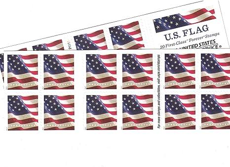 US Flag USPS Forever Stamps