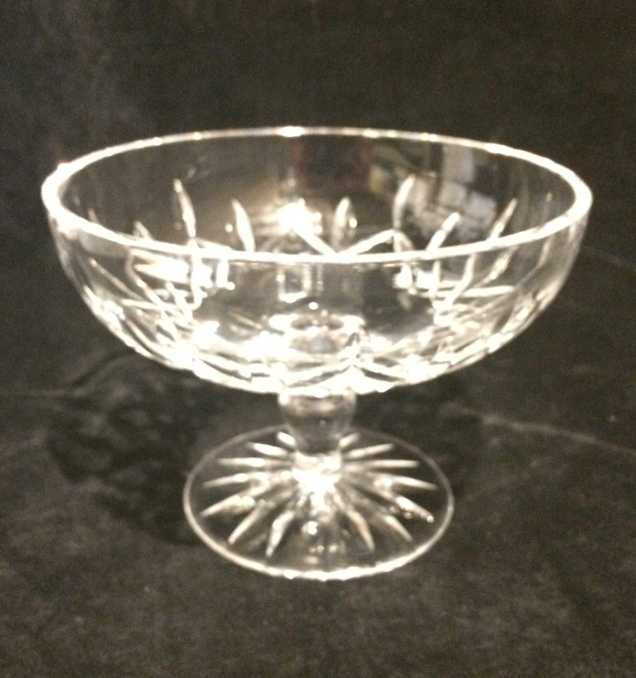 Waterford Crystal Lismore Footed Compote