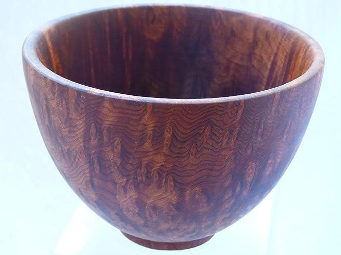 Amazon com: Wood Turned Redwood Burl Bowl: Handmade