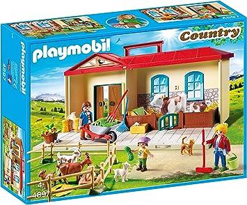 Oferta amazon: Playmobil Granja- Maletín, única (4897)