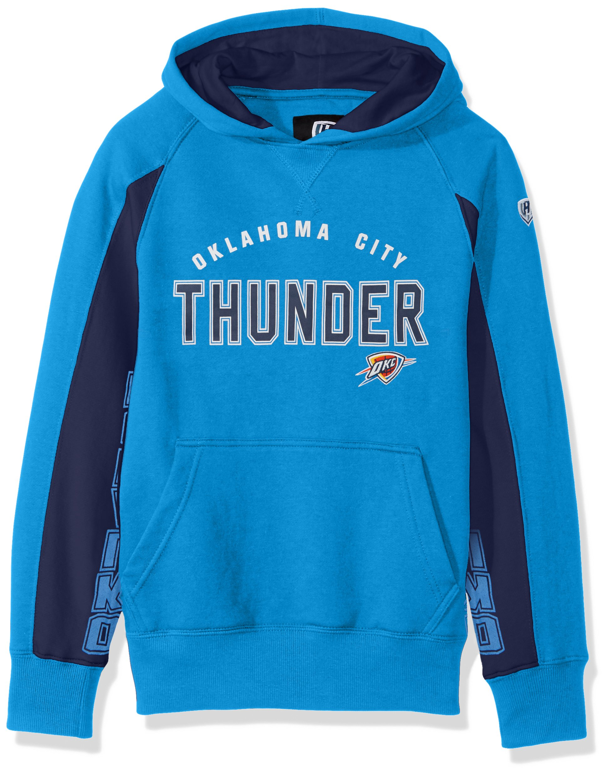 NBA Oklahoma City Thunder Centerfield Pullover Hoody, X-Large, Blue by Hands High