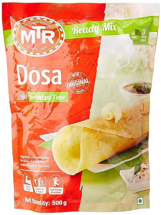 MTR Instant Breakfast Mix - Dosa, 500g