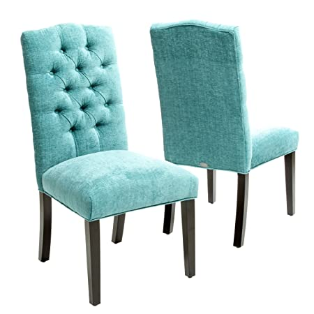 Best-selling Carson Crown Top Dining Chair, Green, Set of 2