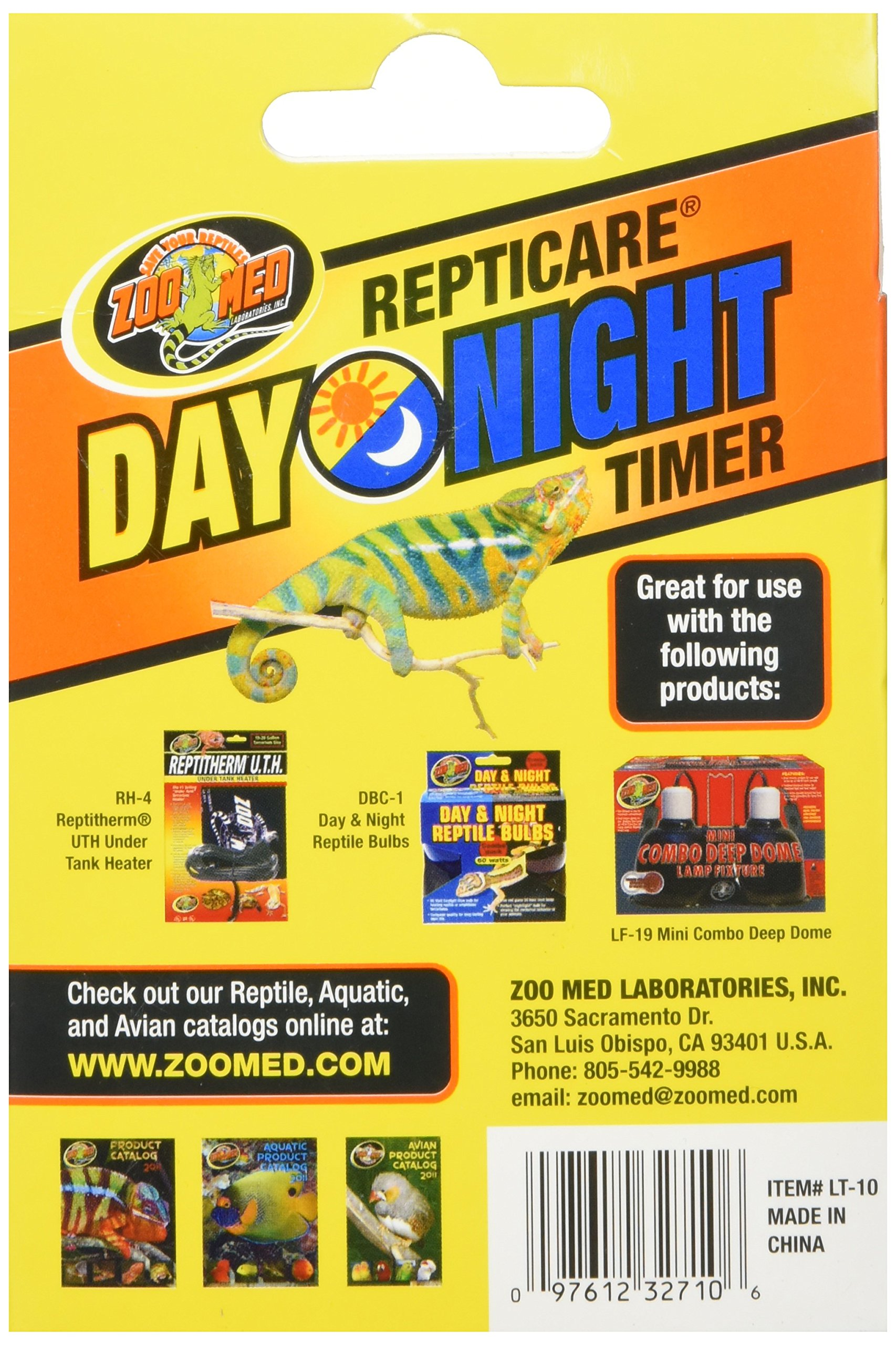 Zoo Med Laboratories SZMLT10 Repti Day Night Timer by Zoo Med (Image #3)