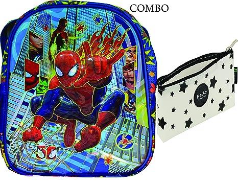 spiderman school bag and case