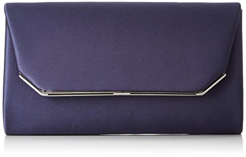 Tamaris Damen Enya Clutch Bag Blau (Navy) 5.5x11x23 cm