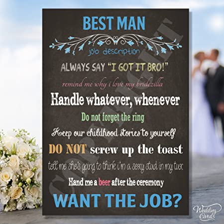 I need a best man for my wedding