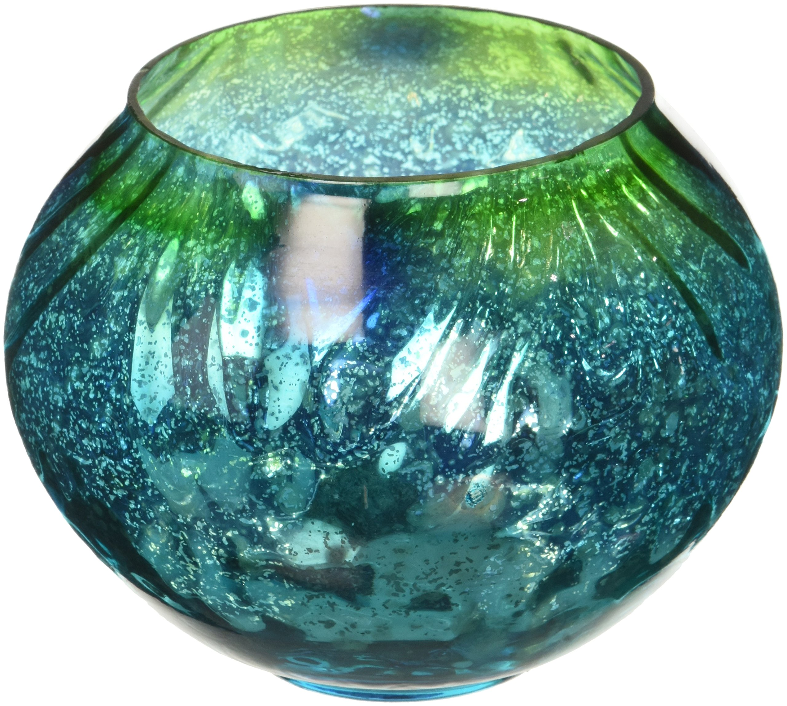 Gallery of Light Candleholders Mediterranean Swell Candleholder Sparkling Greens & Blues Glass Colleft