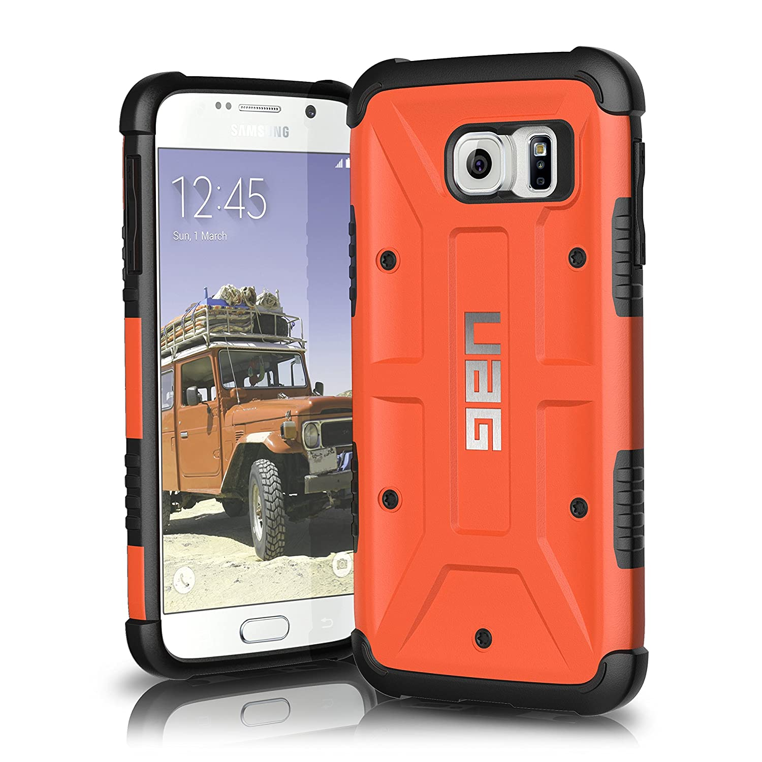 Galaxy s6 cases shop samsung cases online uag urban armor gear - Amazon Com Uag Samsung Galaxy S6 5 1 Inch Screen Feather Light Composite Rust Military Drop Tested Phone Case Cell Phones Accessories