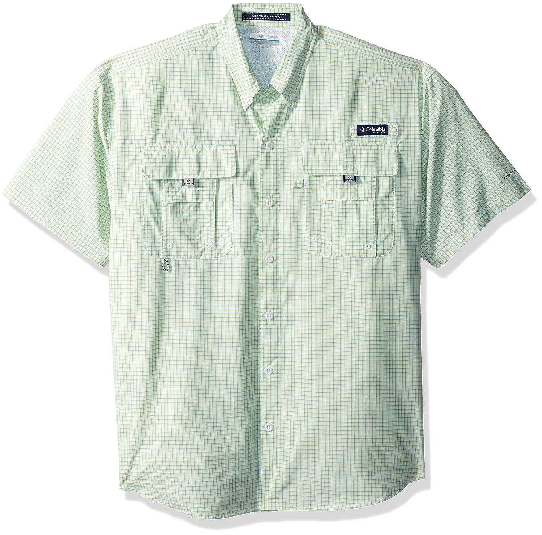Columbia Men's Super Bahama Shorts Sleeve Shirt