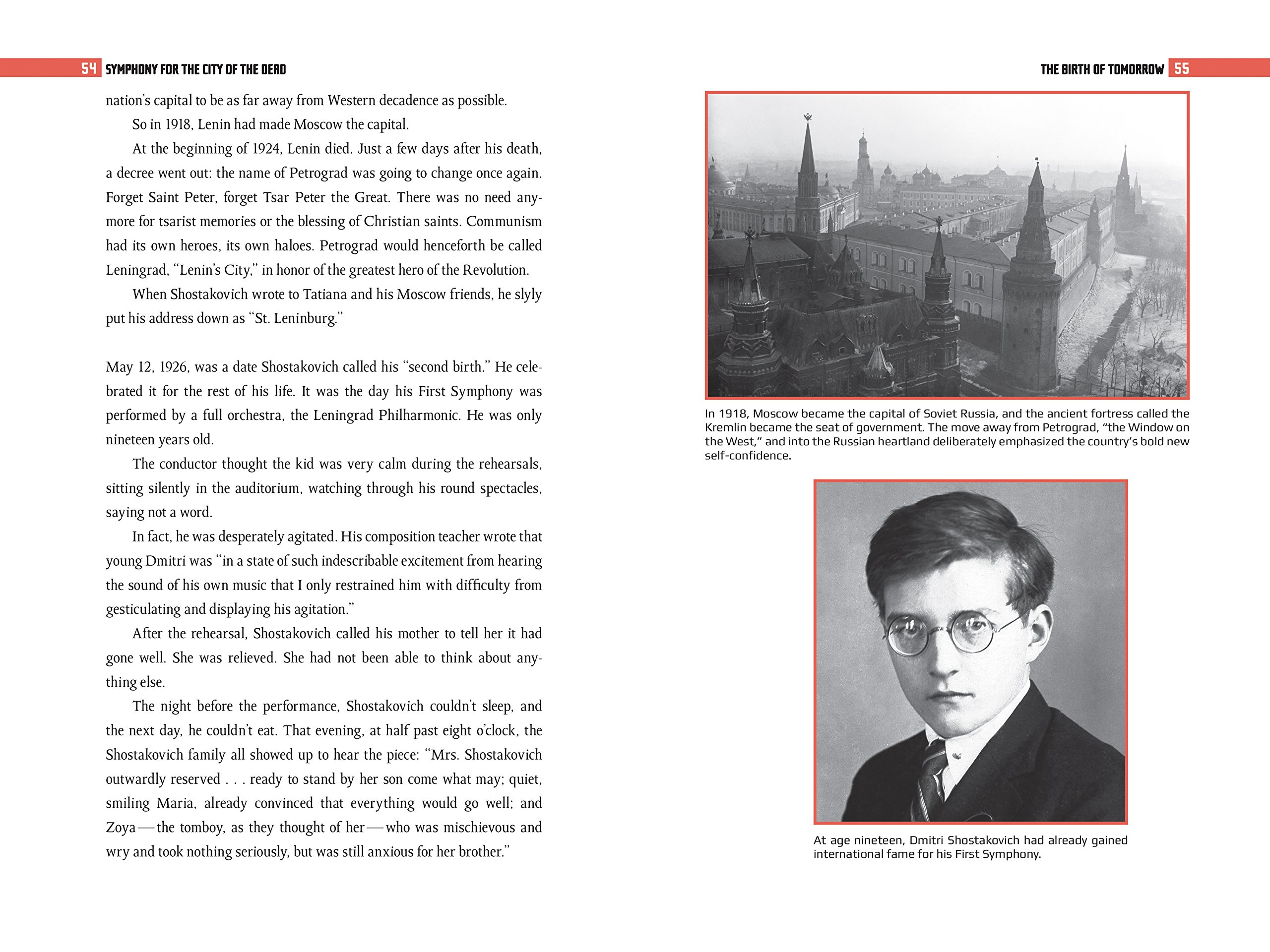 Symphony for the City of the Dead: Dmitri Shostakovich and the Siege of  Leningrad: Amazon.co.uk: M T Anderson: 9780763668181: Books
