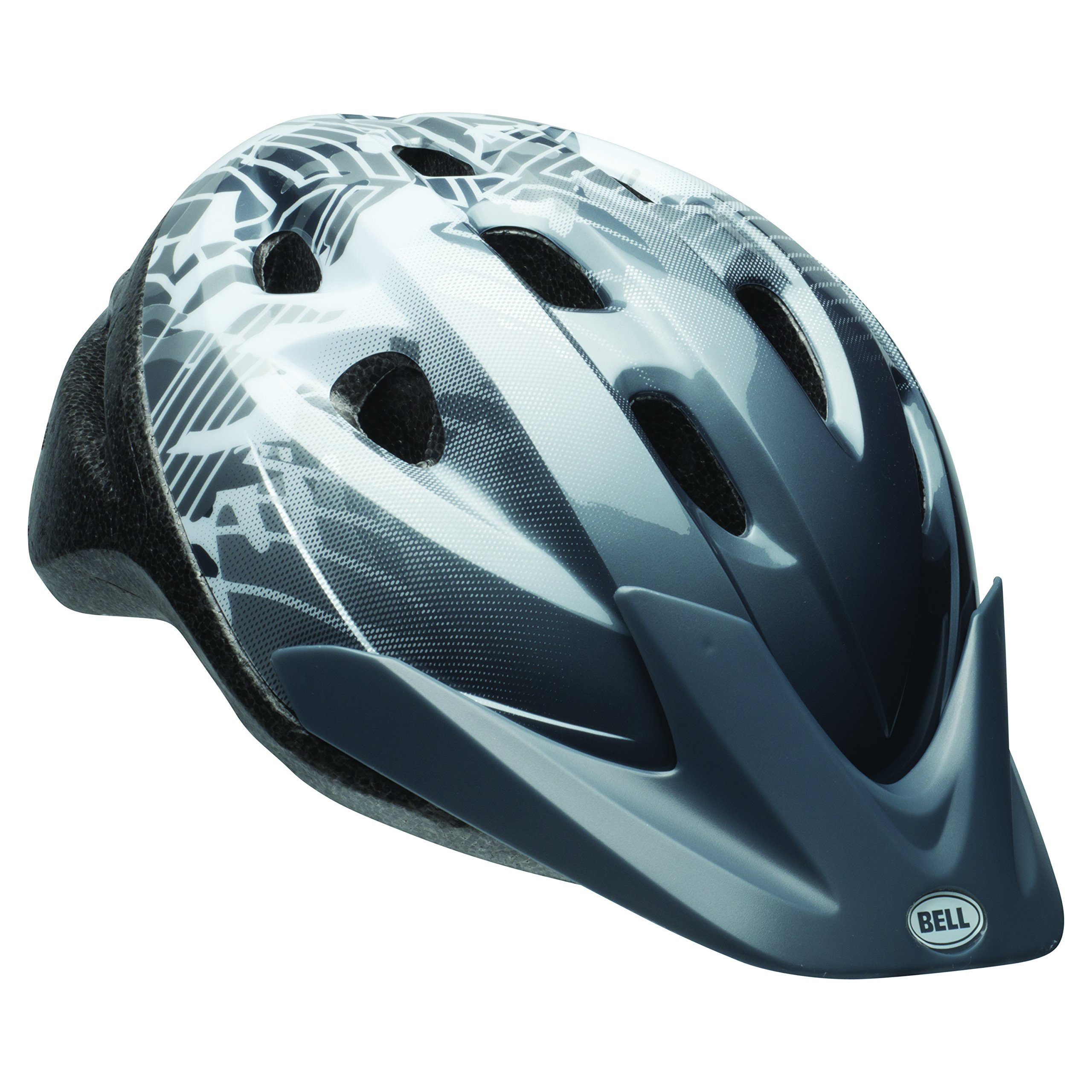 Bell Rally Bike Helmet - Dark Titanium & White
