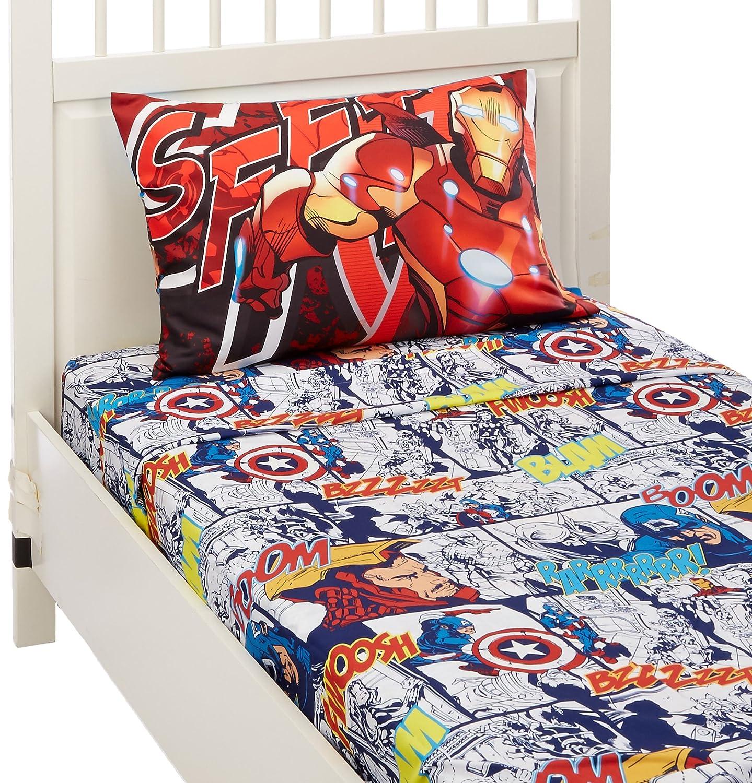 Marvel Avengers 2 Twin Sheet Set