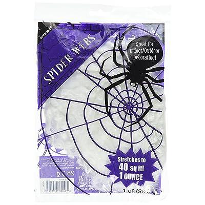 Value Pack Polyester Spider Webs: Toys & Games