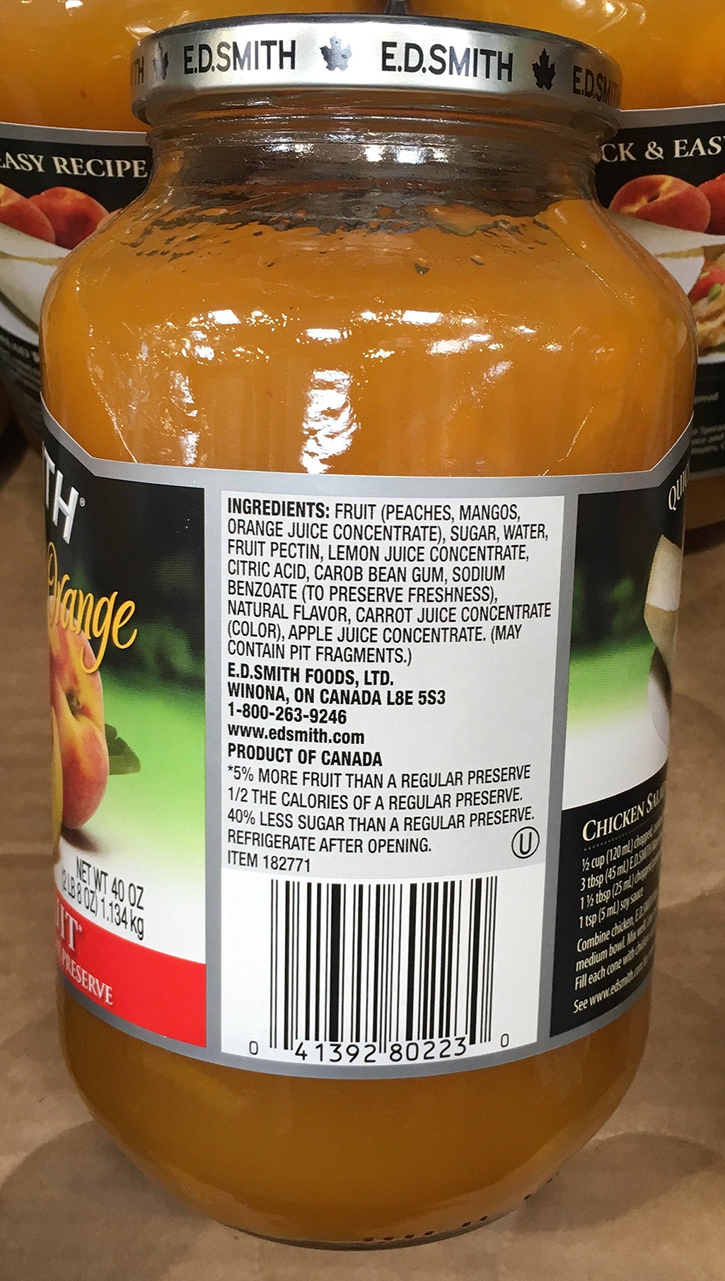 40oz ED Smith Peach Mango Orange Spread (Pack of 1) by ED Smith (Image #2)