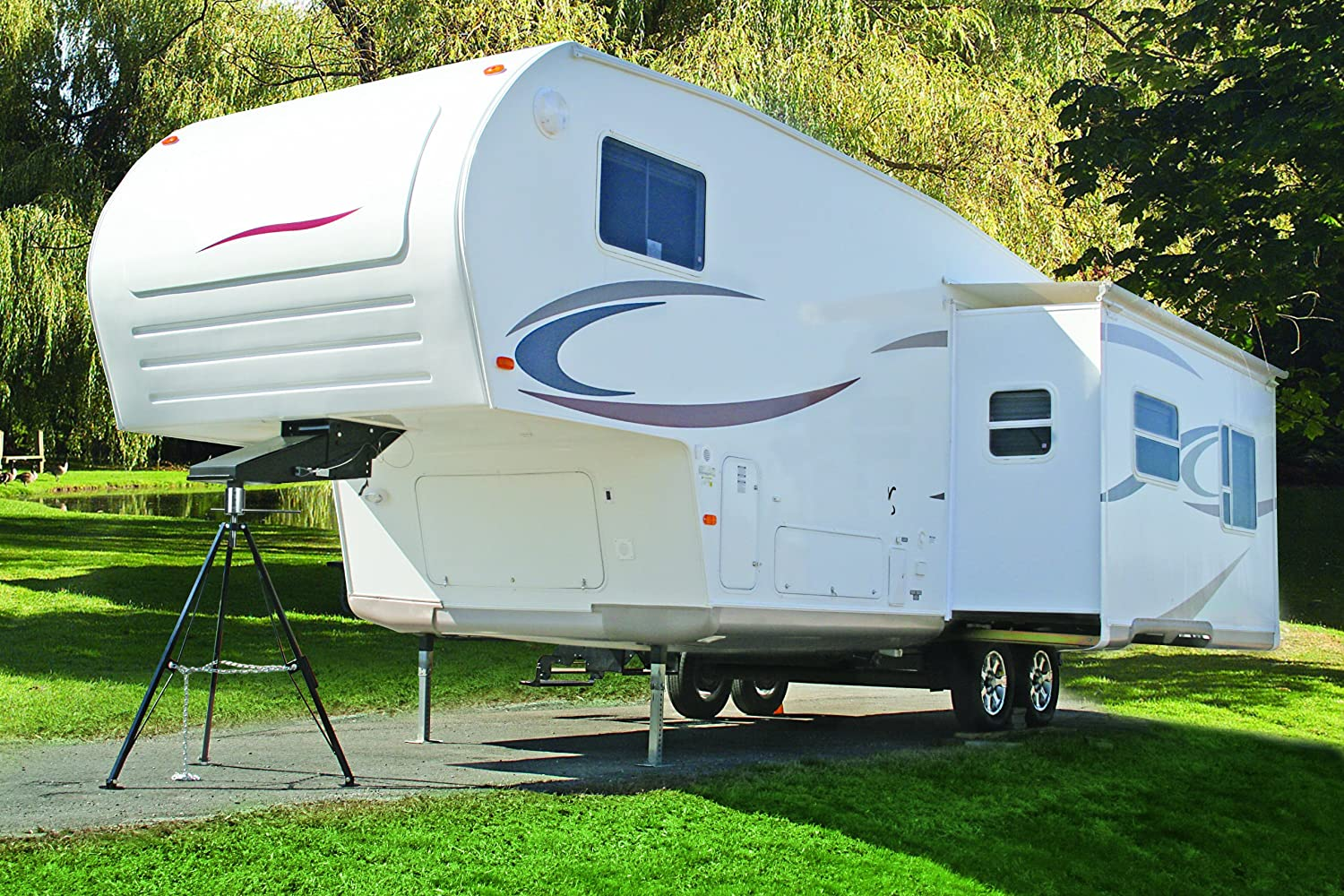 Travel trailer camping without hookups vapors