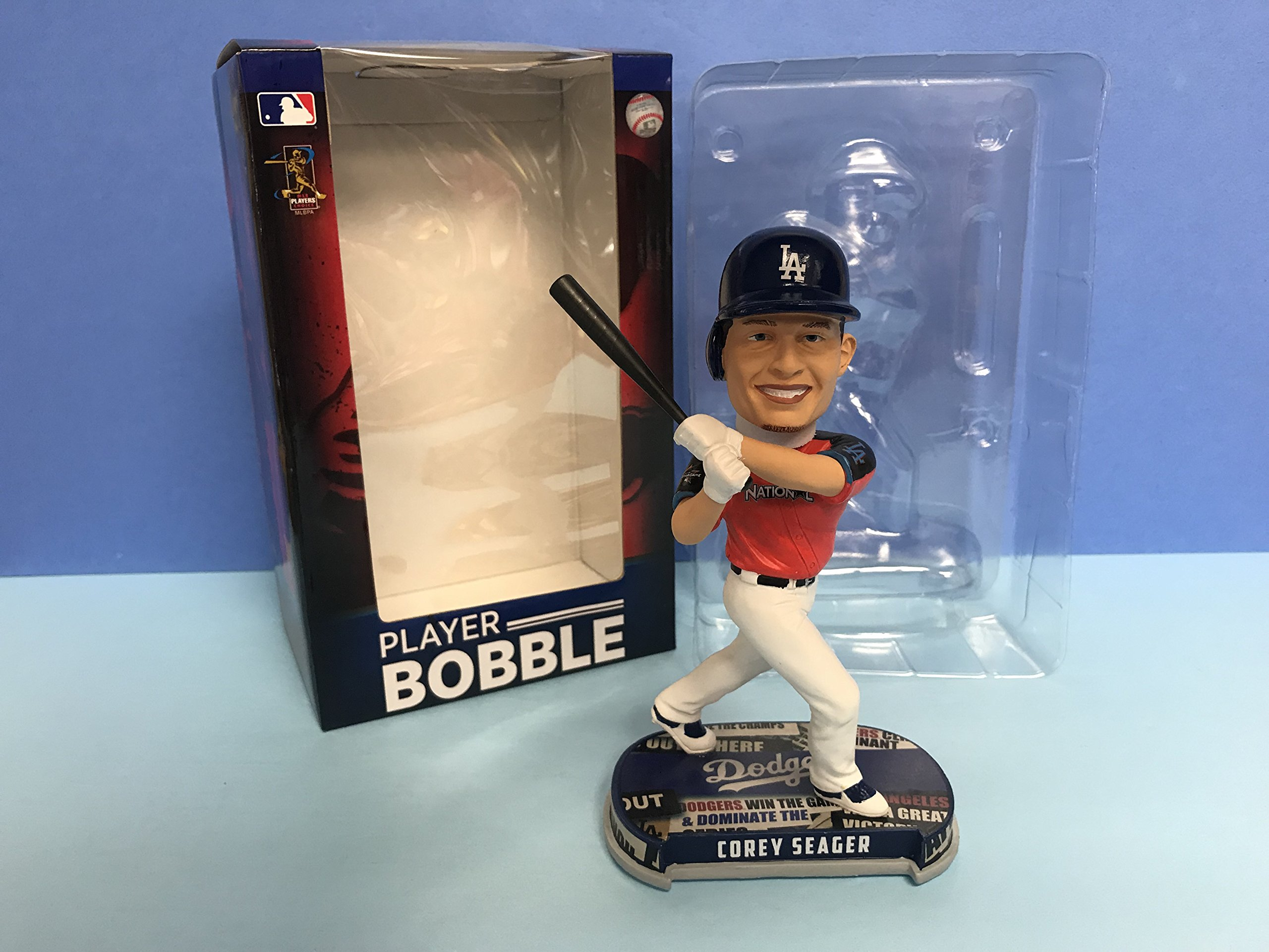Corey Seager 2017 All Star Los Angeles Dodgers Limited Edition Bobblehead 1 of 360 produced