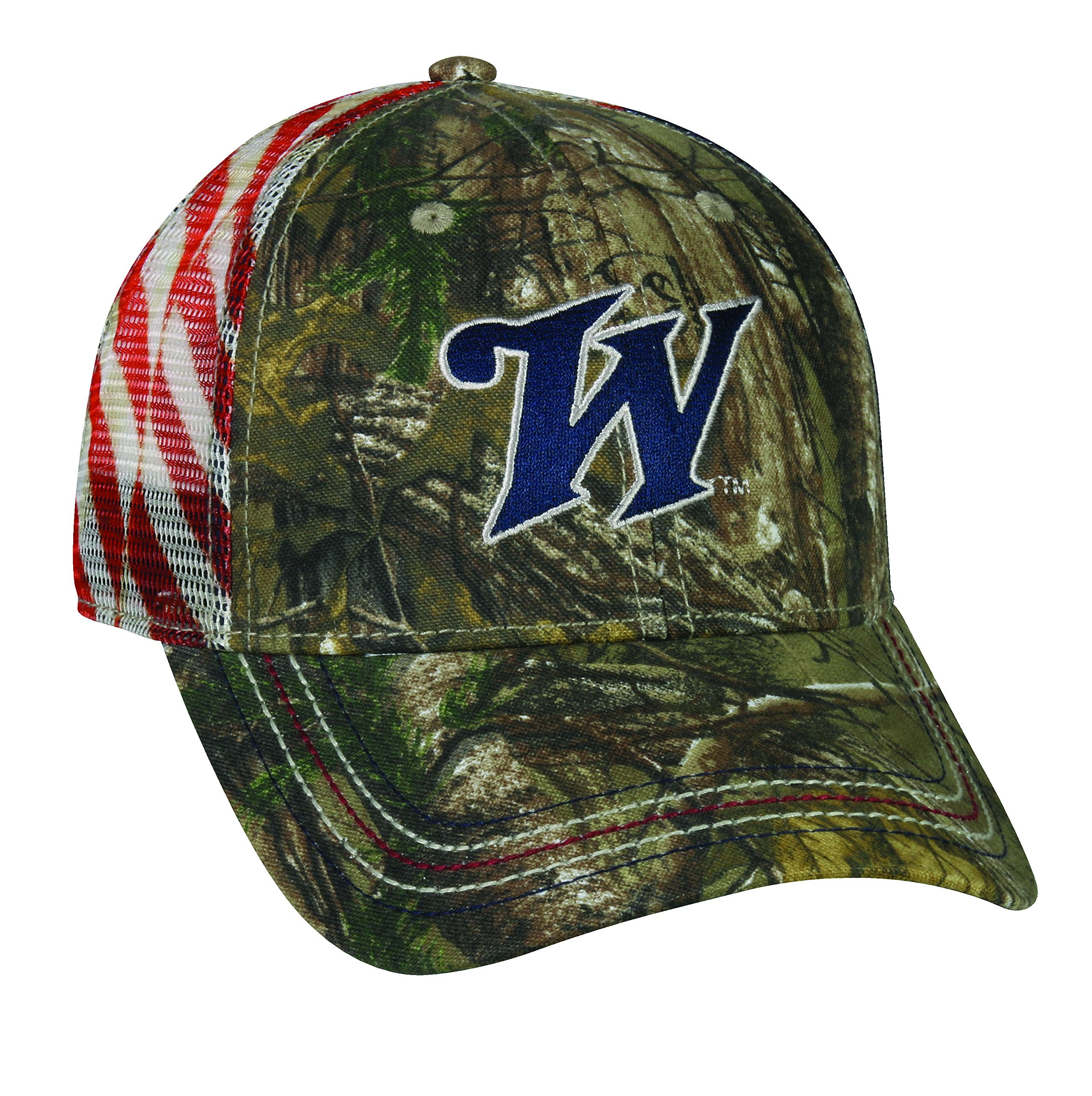 Winchester Adjustable Closure Americana Mesh Back Cap, Realtree Xtra Camo