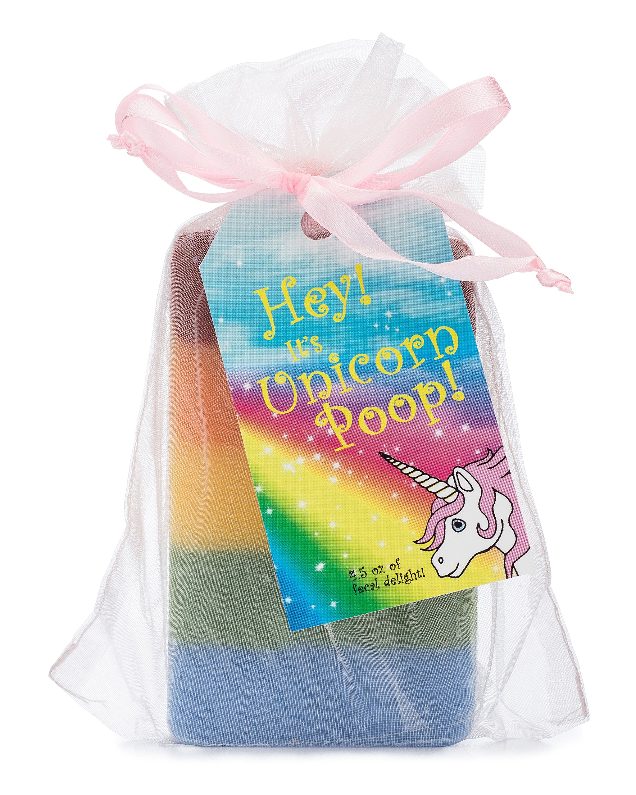 Outlaw Unicorn Poop Soap: a Magical, Sparkly, Unique Unicorn Gift for the Unicorn-lover in your Life (1 Bar of Handmade… 3