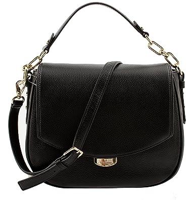 b672bb3f50 Amazon.com  Kate Spade Mulberry Street Alecia Pebbled Black Leather  Shoulder Bag