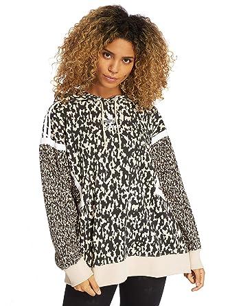 adidas Originals Femme Hauts Sweat Capuche LF  Amazon.fr  Vêtements et  accessoires e6a37a9d7d9