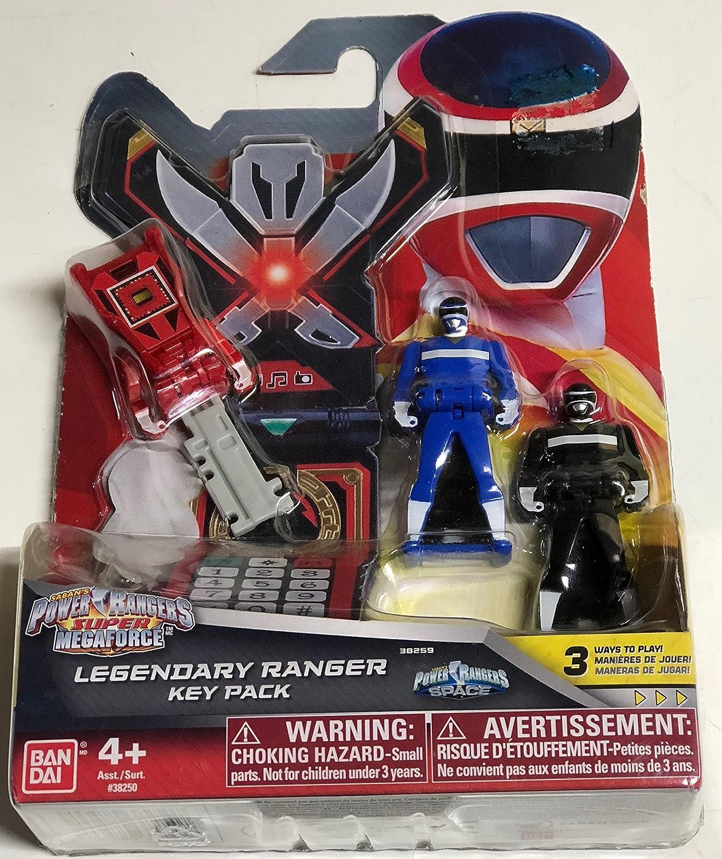 Amazon.com: Power Rangers Super Megaforce In Space Legendary Ranger Key Pack B: Toys & Games