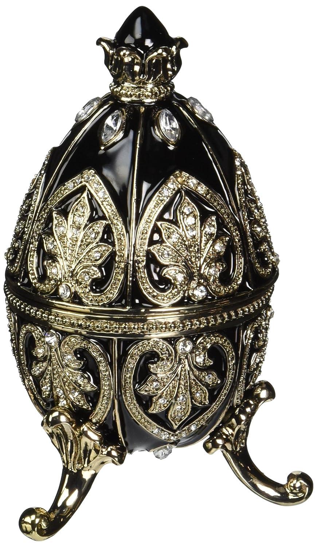 Design Toscano Alexander Palace Collection Romanov Style Enameled Egg, Alloy, Nevsky, 6.5 x 6.5 x 10 cm FH21482