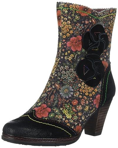 L'Artiste by Spring Step Women's Simonetta Boot, Black, 35 EU/5