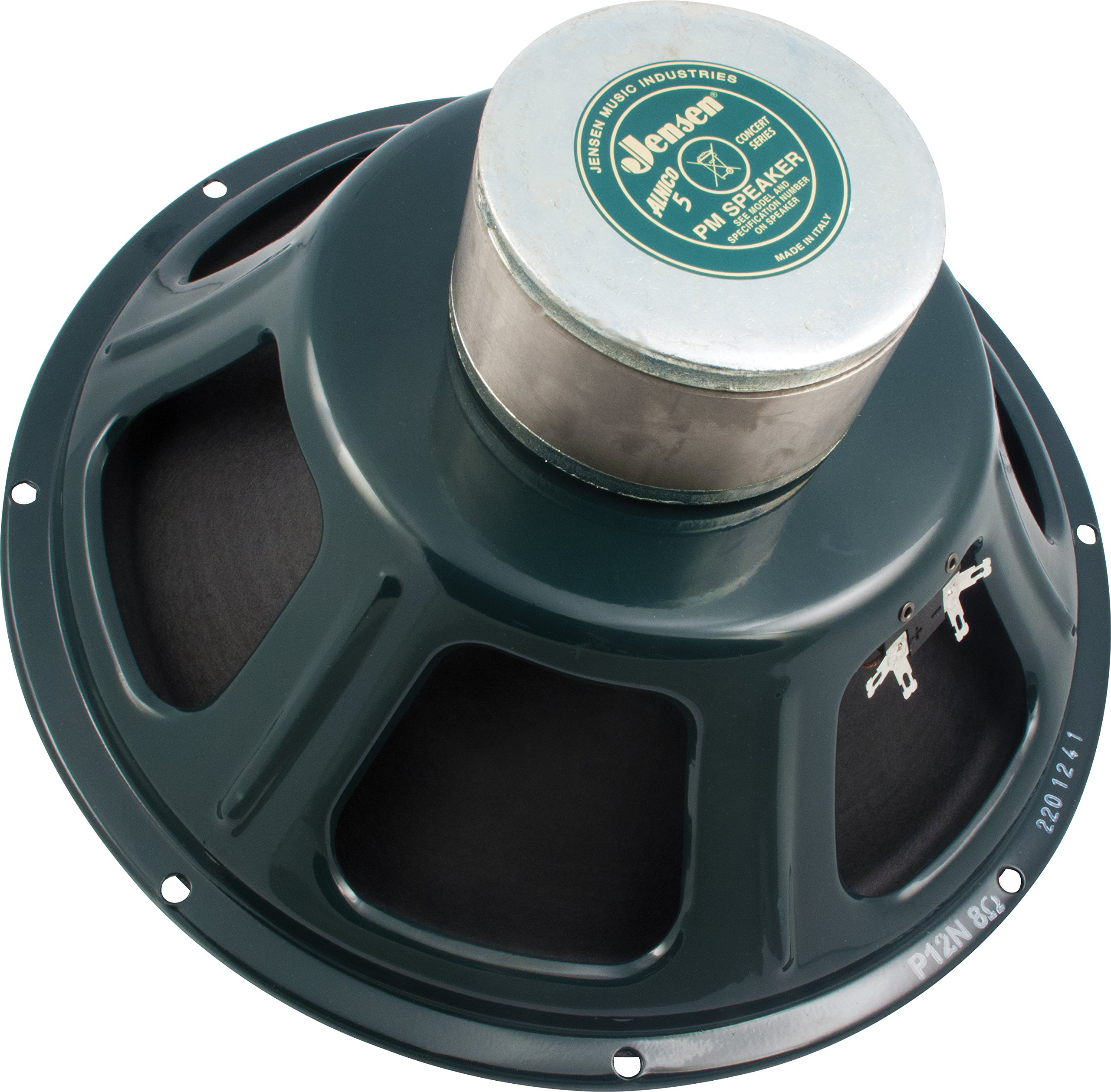 Jensen Vintage P12NNB8 12-Inch Alnico Speaker without  Bell, 8 ohm by Jensen