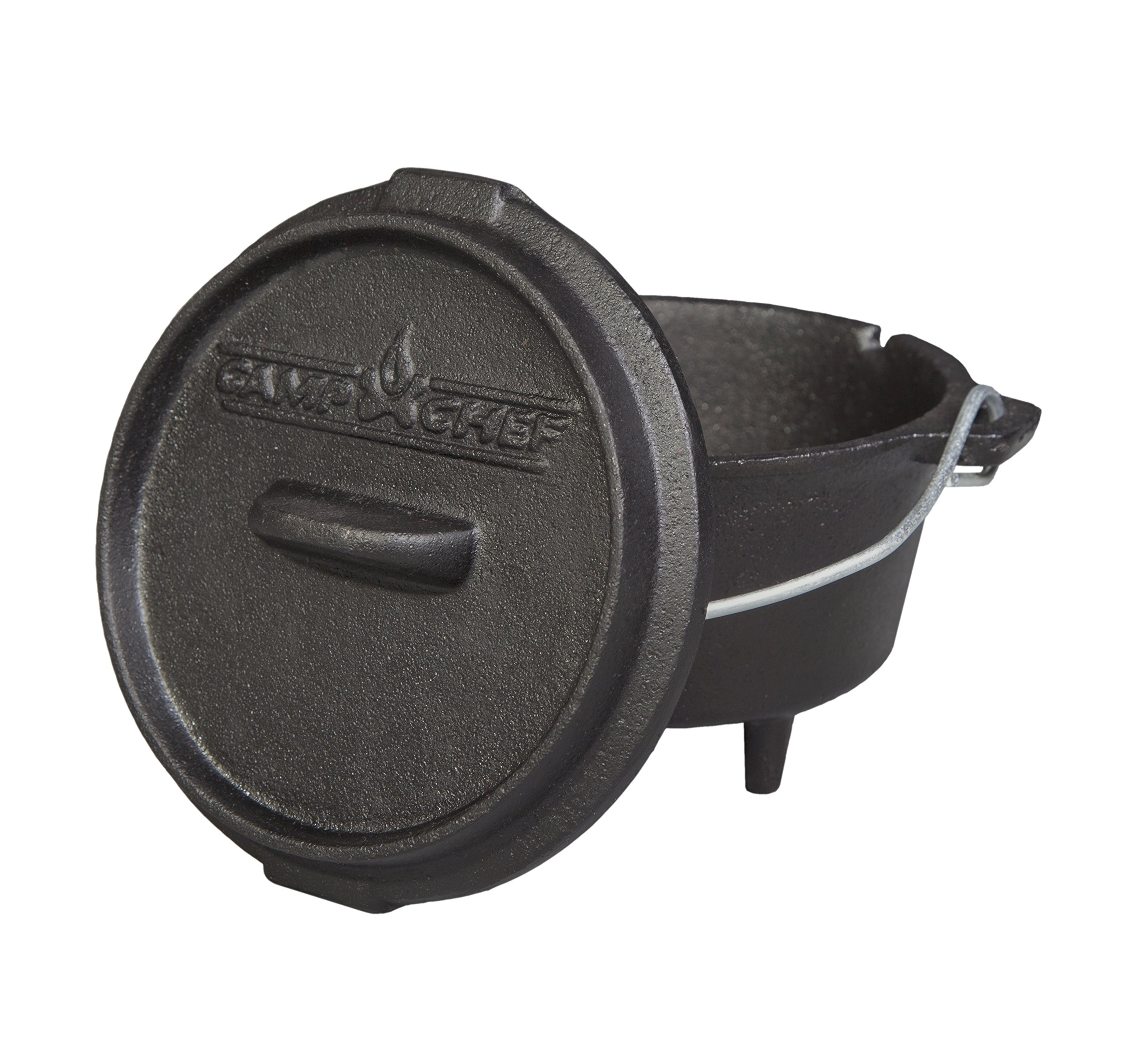 The Camp Chef DO-5-Mini 3/4 Quart Dutch Oven