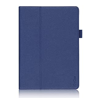 ProCase Samsung Galaxy Tab S 10.5 Case - Bi-Fold Flip Stand Cover Case Exclusive for 2014 Galaxy Tab S Tablet (10.5 inch, SM-T800), with Hand Strap, auto Sleep/Wake (Navy, Dark Blue)