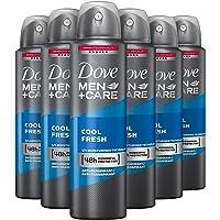Dove Men+Care Cool Fresh Deodorant - 6 x 150ml - Voordeelverpakking