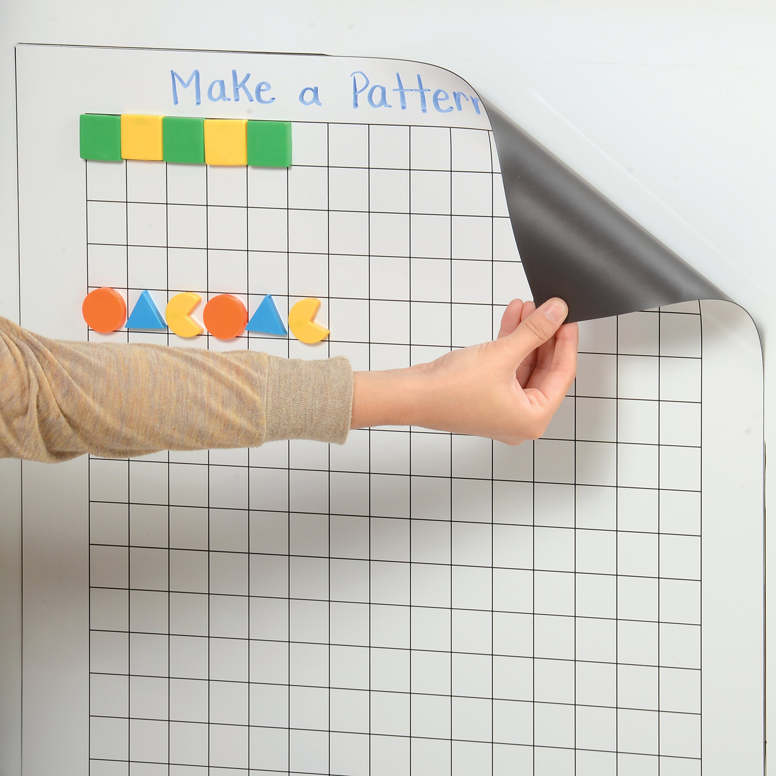 Constructive Playthings TNP-26 Write and Wipe Magnetic Graphing Chart (22'' x 28'')