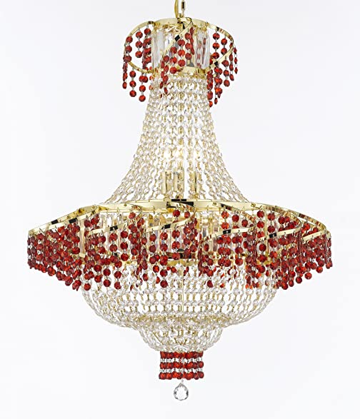 Moroccan Style French Empire Crystal Chandelier Chandeliers H30 ...